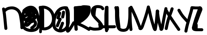 FeelinLikeGold Font LOWERCASE
