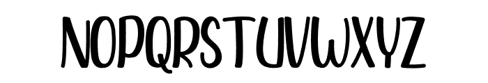 Feeling Good Font UPPERCASE