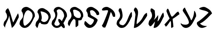Feetish Font LOWERCASE