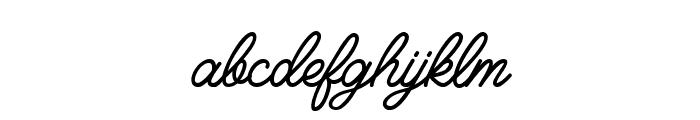 Felician Demo Regular Font LOWERCASE
