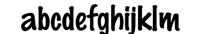 Felt Regular Font LOWERCASE