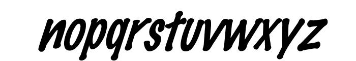 FeltMark-Italic Font LOWERCASE