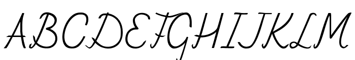 Fely Font UPPERCASE