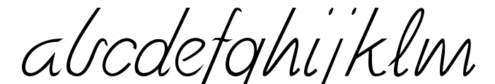 Fely Font LOWERCASE