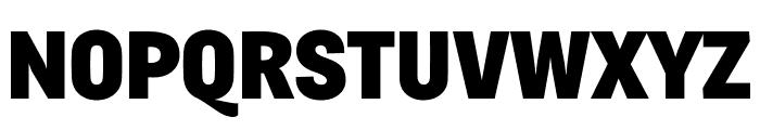 Fengardo Neue Black Font UPPERCASE