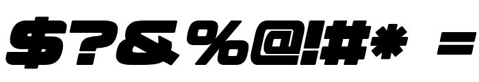 Fenix BlackletterCaps Italic Font OTHER CHARS