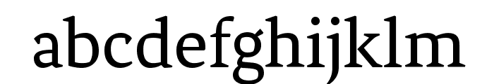 Fenix Font LOWERCASE