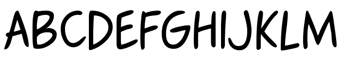 Fennario Font UPPERCASE