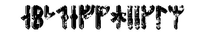 Fenrir Runic Font UPPERCASE