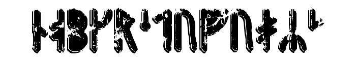 Fenrir Runic Font LOWERCASE