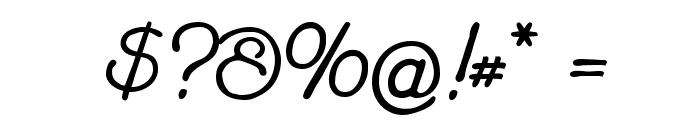 Feronia Font OTHER CHARS