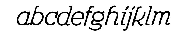 Feronia Font LOWERCASE