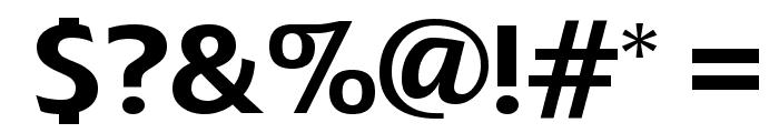 FerretFootPrints Font OTHER CHARS