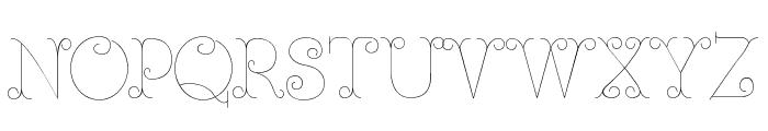 Ferrica-Light Font UPPERCASE