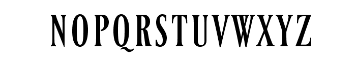 Ferrum Font LOWERCASE