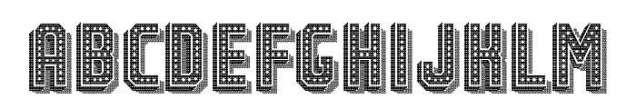 Festival 2 Regular Font UPPERCASE
