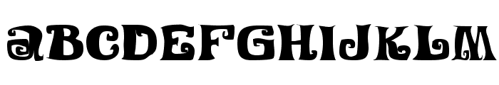 Festival Nights JL Font LOWERCASE
