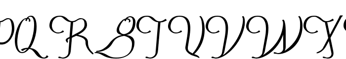 FestivalFlourish Font UPPERCASE