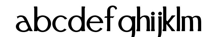 FestivalFlourish Font LOWERCASE