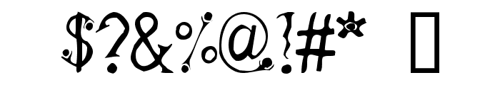 Feta Font OTHER CHARS