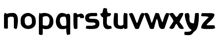 Fetma Heavy Font LOWERCASE