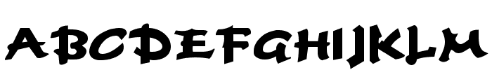 Fettash Normal Font UPPERCASE