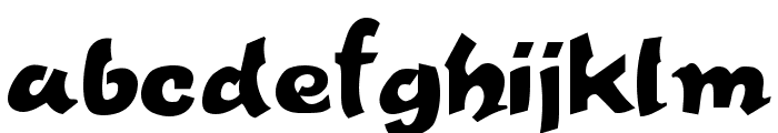Fettash Normal Font LOWERCASE