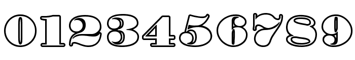 Fette Bauersche Antiqua UNZ Pro Hollow Font OTHER CHARS