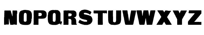 Fette Steinschrift Font UPPERCASE