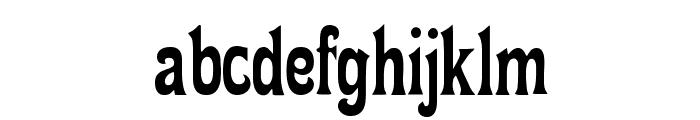 FetteMikado Font LOWERCASE