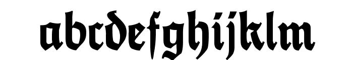 FetteThannhaeuser Font LOWERCASE