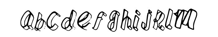 Fettuchine Font LOWERCASE