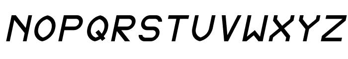 Fewt Slim Italic Font UPPERCASE