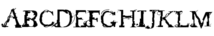 feed my frankenstein Font UPPERCASE
