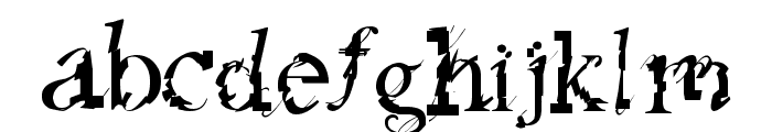 feed my frankenstein Font LOWERCASE