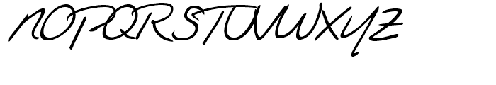 Federico Handwriting Regular Font UPPERCASE