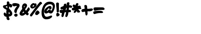 Felt Tip Roman Heavy Font OTHER CHARS