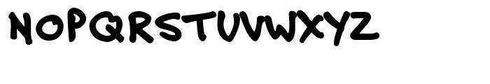 Felt Tip Roman Heavy Font UPPERCASE