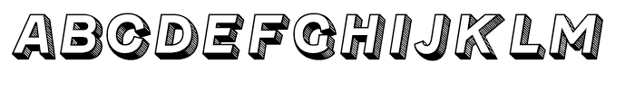 Fenwick Olden Font LOWERCASE