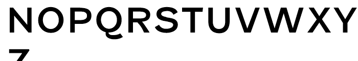 Fenwick Regular Font UPPERCASE