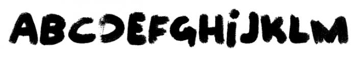 Felt Noisy Regular Font LOWERCASE