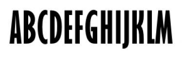 Felton Compressed Font UPPERCASE