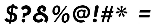 Fenwick Bold Italic Font OTHER CHARS