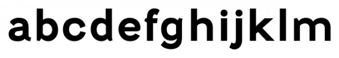 Fenwick Bold Font LOWERCASE