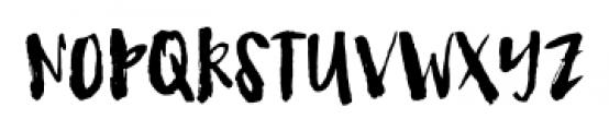 Fetching Regular Font UPPERCASE
