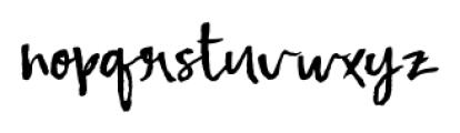 Fetching Regular Font LOWERCASE