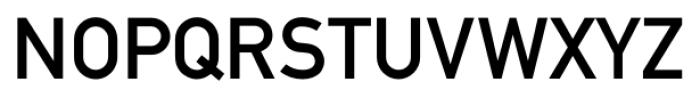 Fette 1451 Mittelschrift Font UPPERCASE