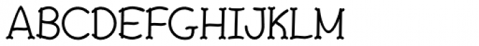FebDrei Bold Font UPPERCASE