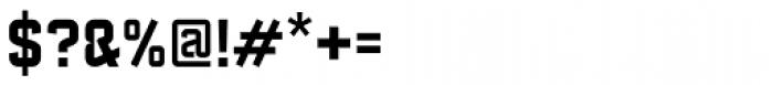 Febrotesk 4F Unicase Bold Font OTHER CHARS