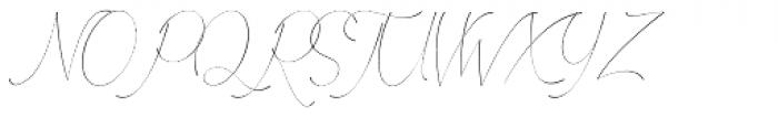 Febyetska Regular Font UPPERCASE